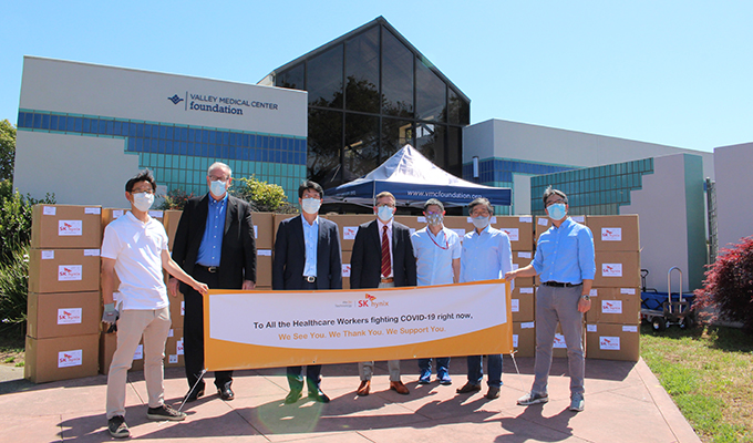 SK hynix_Mask donation to aid COVID 19 relief efforts (1)