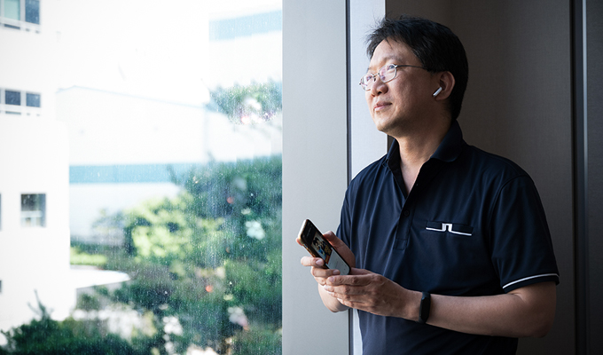 Head of DRAM PE Joohwan Cho, Key Person of the Development of the World's First 40nm-class 2Gb Graphic DDR5